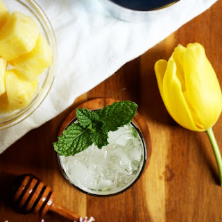 Pineapple Coconut Mojito