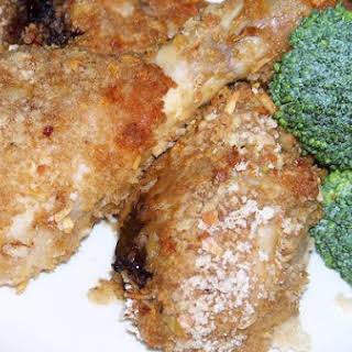 Oniony Crunchy Panko Breaded Chicken Legs.