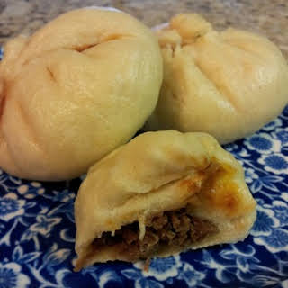 Asian Steamed Buns.