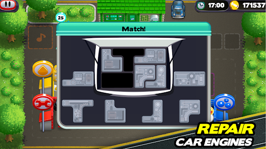 Tiny Auto Shop Car Wash and Garage Game 1.3.7 MOD (Unlimited Money) 4
