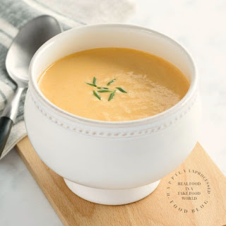 The Most Incredible Crab Bisque with Sherry.