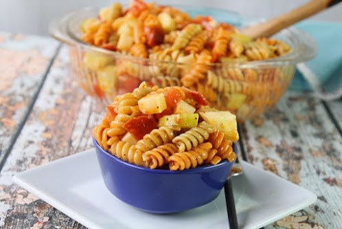 Zesty Pasta Salad Supreme