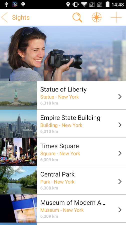 New York Travel Guide -Tourias- screenshot