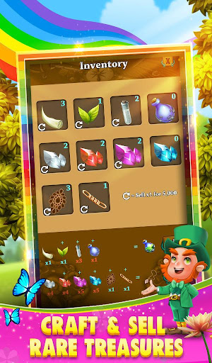 Code Triche Match 3 - Rainbow Riches APK MOD screenshots 5