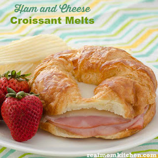 Ham and Cheese Croissant Melts.