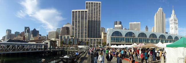 Photo: San Francisco waterfront panorama