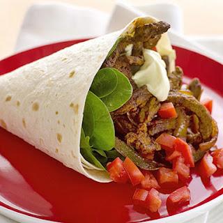 Beef Fajita Wraps