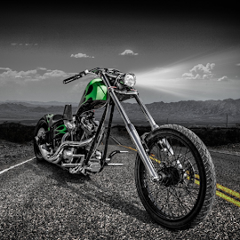 Harley Chopper Wallpaper