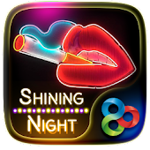 Shining NightGO Launcher Theme