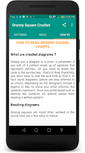 Diy granny square crochet apps on google play screenshot image ccuart Gallery