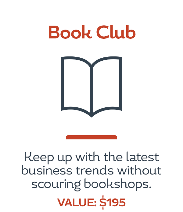 HerBusiness Network Benefits - Book Club
