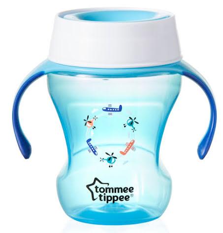 Tommee Tippee 360 Trainer Cup Blå 230ml, 6mån+