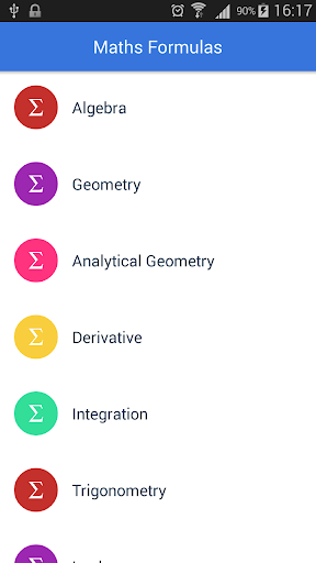 All Math Formulas 2.0 screenshots 1