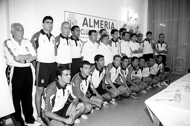 Este fue el Almería Ceefe que mutaba a Almería Unión Deportiva.