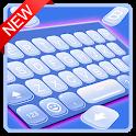 Bubble Blue Keyboard Theme icon