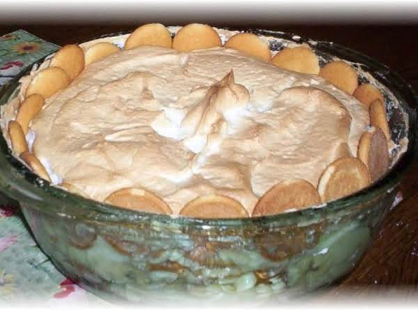 My Grandmother's  Banana Puddin From Scratch