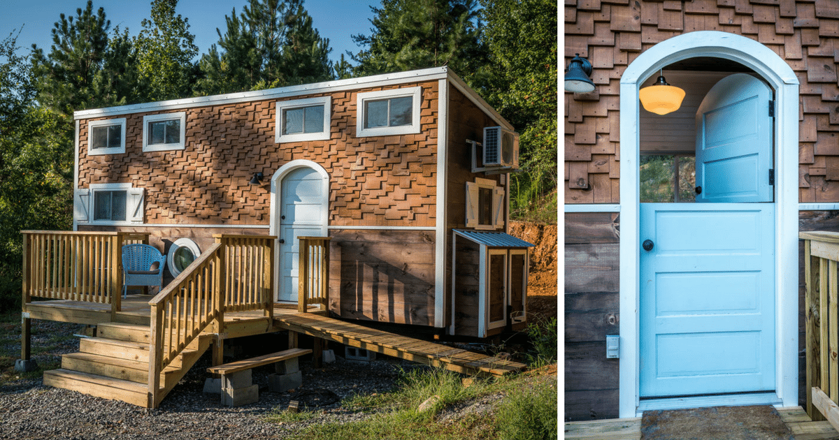 Take A Look Inside This Tennessee Tiny Home The Interior Is Beyond