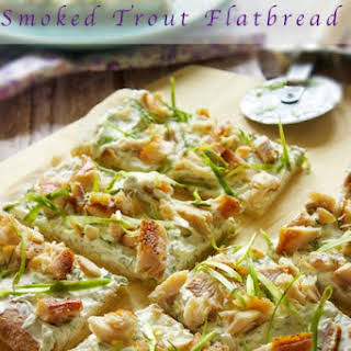 Smoked Trout Flatbread.