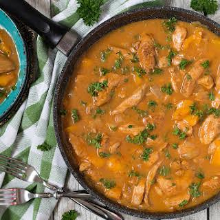 Hungarian Chicken Paprikash.