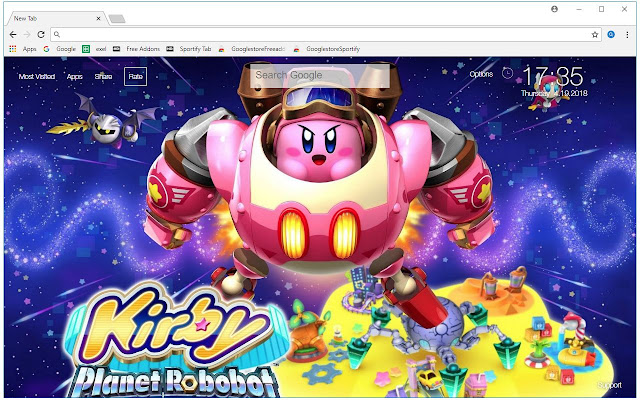 Kirby HD Wallpapers New Tab Themes