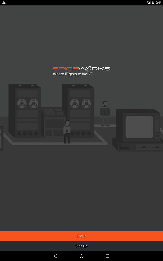 Spiceworks- screenshot