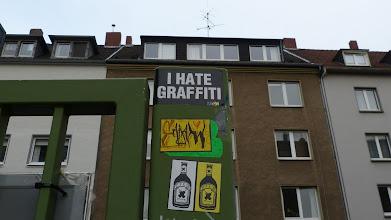 Photo: I HATE GRAFFITI; JPEG & SADAM
