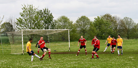 Photo: 26/04/14 v Bedford SA (Bedfordshire County Football League Division One) 8-0 - contributed by Martin Wray