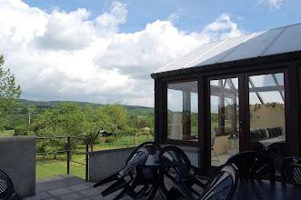 Photo: Uitzicht vanaf het terras