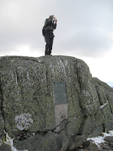 Photo: Me on the summit of Mount Marcy. Photo by Dave Socky
