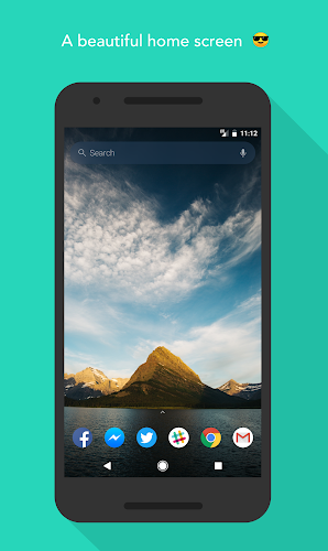 Evie Launcher Android App Screenshot