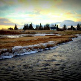 Þingvellir National Park by Yvonne Reinholdtsen - Novices Only Landscapes ( þingvellir national park, island )