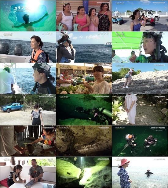 (TV-Variety)(720p) 感動地球スペシャル カリブ海と聖なる泉~大島優子 メキシコの旅~ 170305