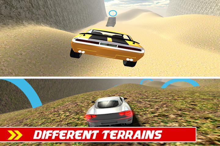 android Crazy Car Stunts Simulator Screenshot 5