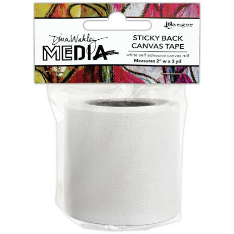 Dina Wakley Media Stickyback Canvas Tape 2inch