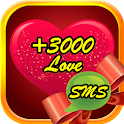 3000+ Love Messages icon