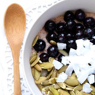 Blueberry Coconut Porridge