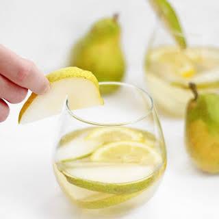 Citrus Pear White Wine Sangria.