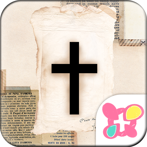 Cute Theme-Antique Cross- Icon