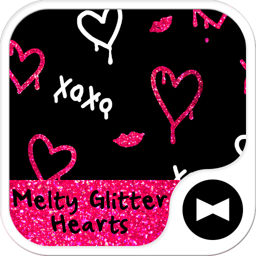 Glitter Hearts  Wallpaper Icon
