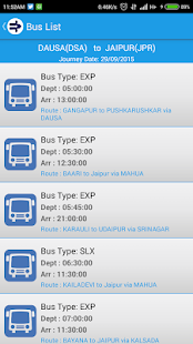 RSRTC Bus Ticket Booking- screenshot thumbnail