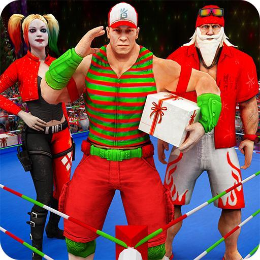 Santa Claus Kung Fu Karate Fighting Christmas 2018