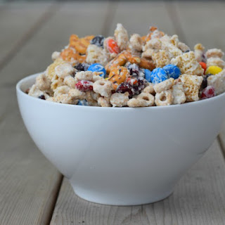 Snack on This Easy White Chocolate Party Mix Recipe