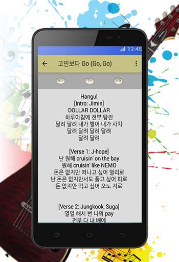download bts song go go