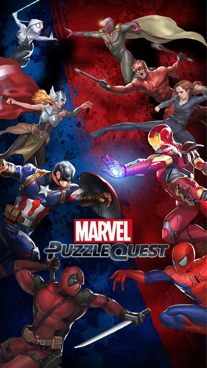 Marvel Puzzle Quest screenshot #1