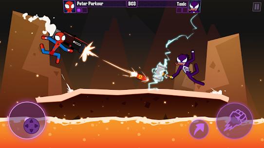 Spider Stickman Fighting 2 – Supreme stickman duel 9