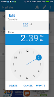 Hydrate Water Drink Reminder & Tracker- screenshot thumbnail