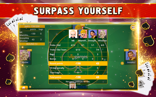 Spades Offline - Single Player apkdebit screenshots 10