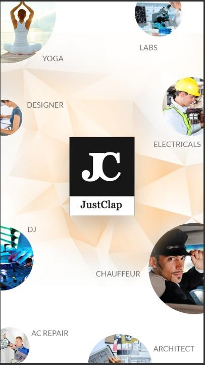 JustClap: Search Local Service- screenshot