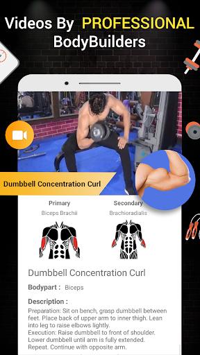 Pro Gym Workout (Gym Workouts & Fitness) 5.4 Screenshots 5