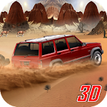 Desert Safari Jeep Adventure Icon
